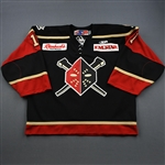 Parise, Jordan<br>Black Set 1<br>Wheeling Nailers 2009-10<br>#1 Size: 58G
