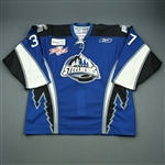Craig, Matt<br>Blue Set 1 w/Kelly Cup Patch<br>Idaho Steelheads 2007-08<br>#37 Size: 56