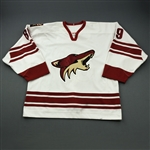 Comrie, Mike * <br>White Set 1<br>Phoenix Coyotes 2003-04<br>#89 Size: 54