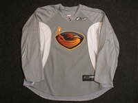 Reebok<br>Gray Practice Jersey<br>Atlanta Thrashers 2009-10<br>#N/A Size: 58
