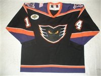 Betournay, Eric * <br>Black (Upper Deck Patch)<br>Philadelphia Phantoms 2001-02<br>#14 Size: 54