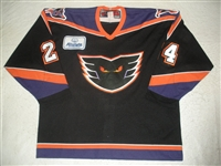 MacNeil, Ian * <br>Black (AllState Patch)<br>Philadelphia Phantoms 2003-04<br>#24 Size: 56