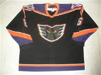 Wood, Stephen * <br>Black<br>Philadelphia Phantoms 2004-05<br>#6 Size: 56