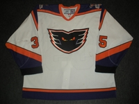 DeCaro, John * <br>White<br>Philadelphia Phantoms 2006-07<br>#35 Size: 58