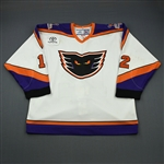 Grant, Triston * <br>White (Toyota Patch)<br>Philadelphia Phantoms 2006-07<br>#12 Size:56