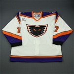 Ruggeri, Rosario * <br>White (Toyota Patch)<br>Philadelphia Phantoms 2006-07<br>#17 Size: 58