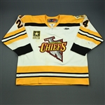 McKenzie, Jim<br>White Set 1<br>Johnstown Chiefs 2009-10<br>#24 Size: 58