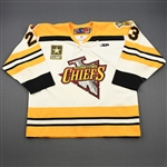 Menei, Ryan<br>White Set 1<br>Johnstown Chiefs 2009-10<br>#23 Size: 54