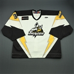 Pitton, Bryan<br>White Set 1 w/5th Anniv. Patch<br>Stockton Thunder 2009-10<br>#31 Size: 58G