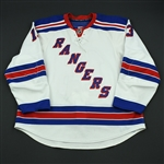 Zherdev, Nikolai<br>White Set 2<br>New York Rangers 2008-09<br>#13 Size: 58