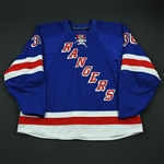 Potter, Corey<br>Blue Set 1 - NHL Debut<br>New York Rangers 2008-09<br>#38 Size: 58+