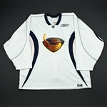Reebok<br>White Practice Jersey<br>Atlanta Thrashers 2006-07<br>#N/A Size: 58