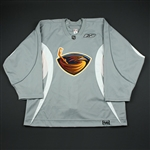 Reebok<br>Gray Practice Jersey<br>Atlanta Thrashers 2006-07<br>#N/A Size: 56