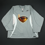 Reebok<br>Gray Practice Jersey<br>Atlanta Thrashers 2006-07<br>#N/A Size: 58