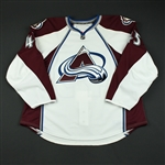 Durno, Chris<br>White Set 1 - Game-Issued (GI)<br>Colorado Avalanche 2008-09<br>#45 Size: 56