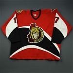 Murray, Chris * <br>Red Auto<br>Ottawa Senators 1997-99<br>#17 Size: 58