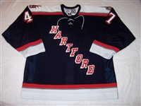 Falardeau, Lee<br>Navy Set 2<br>Hartford Wolf Pack 2005-06<br>#47 Size: 56