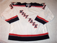 Holt, Chris<br>White Set 2<br>Hartford Wolf Pack 2005-06<br>#31 Size: 58G