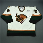 Caria, Matt<br>White Set 1<br>Utah Grizzlies 2009-10<br>#84 Size: 56