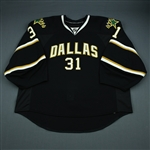 Auld, Alex<br>Black Set 2<br>Dallas Stars 2009-10<br>#31 Size: 58+G