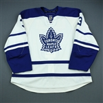 Exelby, Garnet<br>Third Set 2<br>Toronto Maple Leafs 2009-10<br>#7 Size: 58