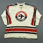 Taylor, Tim * <br>White, Autographed on front<br>Waterloo Blackhawks 1960s<br>#10 Size: 46