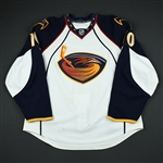 Little, Bryan <br>White Set 1<br>Atlanta Thrashers 2009-10<br>#10 Size: 56