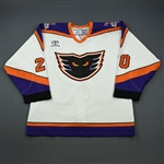 Davis, Matt * <br>White Set 1<br>Philadelphia Phantoms 2006-07<br>#20 Size: 54