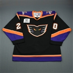 Davis, Matt * <br>Black Set 1<br>Philadelphia Phantoms 2006-07<br>#20 Size: 54