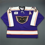 Kane, Boyd * <br>Purple wA<br>Philadelphia Phantoms 2006-07<br>#28 Size: 56
