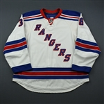 Parenteau, PA<br>White Set 3<br>New York Rangers 2009-10<br>#38 Size: 56