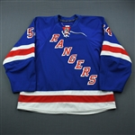 Sanguinetti, Bobby<br>Blue Set 1<br>New York Rangers 2009-10<br>#54 Size: 56