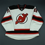 Bergfors, Niclas<br>White Set 2<br>New Jersey Devils 2009-10<br>#18 Size: 54