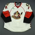Daugavins, Kaspars<br>White Set 1<br>Binghamton Senators 2008-09<br>#21 Size: 58