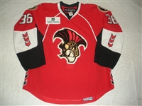 Zubov, Ilya<br>Red Set 1<br>Binghamton Senators 2008-09<br>#36 Size: 56