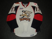 Pare, Francis<br>White Set 1<br>Grand Rapids Griffins 2008-09<br>#17 Size: 54
