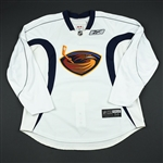 Reebok Edge<br>White Practice Jersey<br>Atlanta Thrashers 2008-09<br>#N/A Size: 56