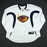 Reebok Edge<br>White Practice Jersey<br>Atlanta Thrashers 2008-09<br>#N/A Size: 58