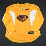 Reebok Edge<br>Yellow Practice Jersey<br>Atlanta Thrashers 2008-09<br>#N/A Size: 56