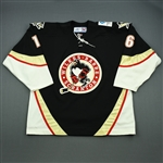 Christensen, Erik * <br>Black Set 1<br>Wilkes-Barre Scranton Penguins 2006-07<br>#16 Size: 56