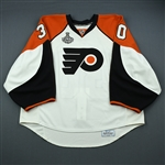 Backlund, Johan<br>White Game-Issued - Stanley Cup Final<br>Philadelphia Flyers 2009-10<br>#30 Size: 58G