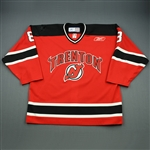 Cohen, Matt<br>Red Set 1<br>Trenton Devils 2008-09<br>#8 Size: 56