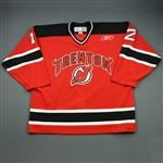 OLeary, Mark<br>Red Set 1<br>Trenton Devils 2008-09<br>#12 Size:56