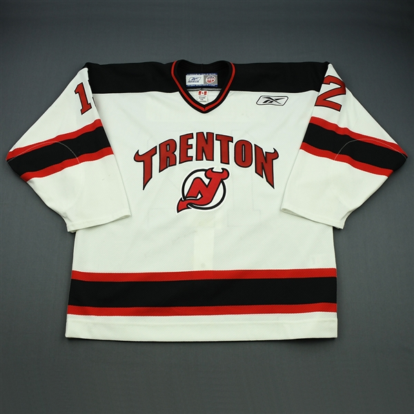 OLeary, Mark<br>White Set 1<br>Trenton Devils 2008-09<br>#12 Size:56