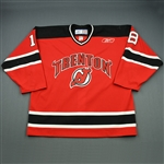 Pilkington, Brett<br>Red Set 1<br>Trenton Devils 2008-09<br>#18 Size: 56