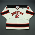 Poli, Chris<br>White Set 1<br>Trenton Devils 2008-09<br>#14 Size: 56