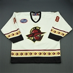 Schell, Brad<br>White Set 1<br>Gwinnett Gladiators 2008-09<br>#18 Size: 54