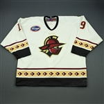 Kaleniecki, Brandon<br>White Set 1<br>Gwinnett Gladiators 2008-09<br>#19 Size: 56