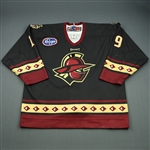 Kaleniecki, Brandon<br>Black Set 1<br>Gwinnett Gladiators 2008-09<br>#19 Size: 56