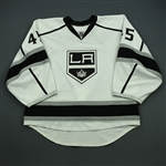 Bernier, Jonathan<br>White Set 3 / Playoffs<br>Los Angeles Kings 2012-13<br>#45 Size: 58G